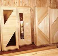 Как вставить дверь в баню своими руками
