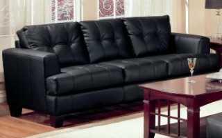 Как убрать царапины с экокожи дивана?