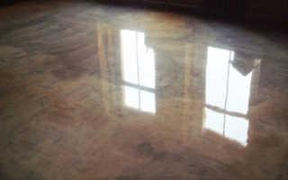Лак для бетона