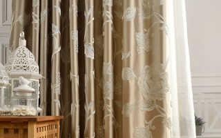 Какую ткань для штор лучше выбрать