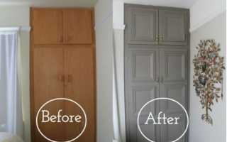 Как ошкурить старый шкаф?