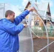 Строительство теплицы из поликарбоната