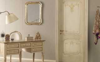 Чем снять краску с деревянной двери?