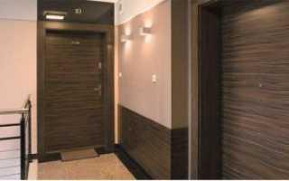 Как отделать ламинатом откосы у входной двери?