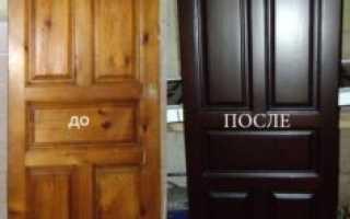 Как отреставрировать входную деревянную дверь?