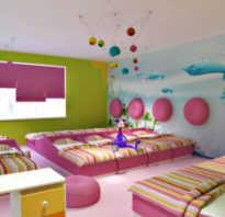 Спальня в детском саду