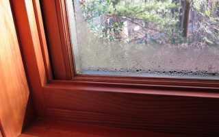 Почему зимой запотевают пластиковые окна