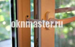 Как правильно установить гребенку на пластиковое окно