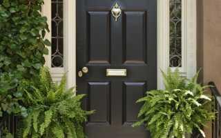Как правильно выбрать железную входную дверь?