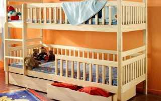 Из чего состоит детская кровать?