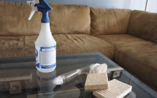 Чем чистить пятна на мягкой мебели?
