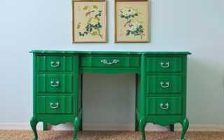 Как перекрасить ламинированный шкаф?