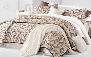 Как правильно подобрать размер покрывала на кровать?