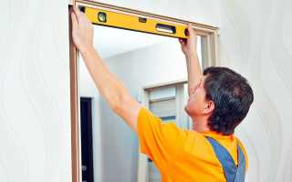 Как правильно подобрать коробку для деревянной двери?