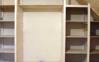 Как из стеллажа сделать шкаф?