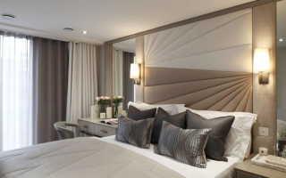 Как сделать мягкую стену у кровати?