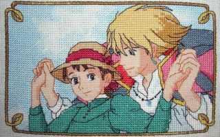 Вышивка крестиком аниме