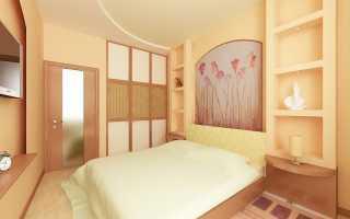 Спальня 11 кв м ремонт