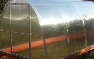 Фундамент из бруса под теплицу из поликарбоната