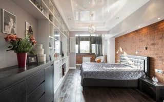 Навесной потолок в спальне