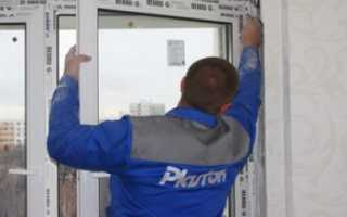 Как снять окно пвх с петель