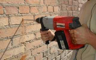 Сверло по кирпичу как просверлить кирпичную стену