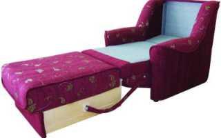 Как переделать кресло в кресло кровать?