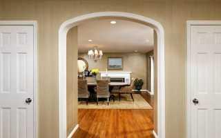 Как обыграть дверной проем без двери?