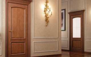 Как заделать царапины на деревянной двери?