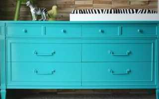 Можно ли покрасить лакированную мебель?