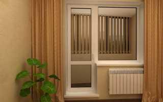 Из чего состоит балконная дверь?