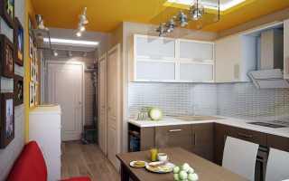 Кухня коридор дизайн