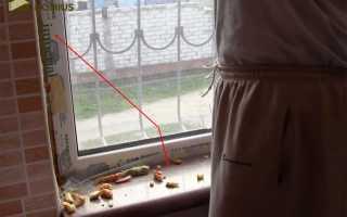 Как отделать окно пластиком внутри