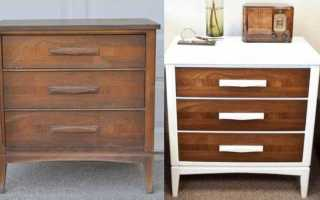 Как улучшить старую мебель?