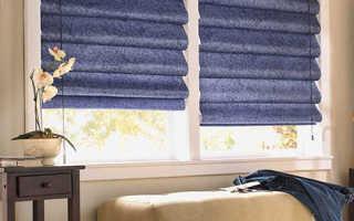 Как пошить и закрепить на окне римские шторы самостоятельно