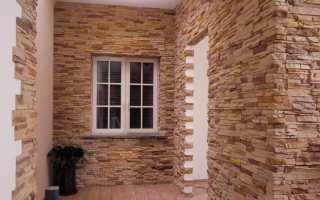 Технология отделки стен камнем внутри дома