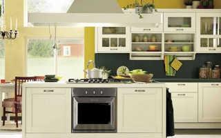 Из чего состоит кухонная мебель?