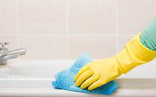 Как чистить ванну