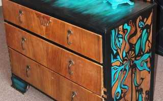 Как самому отреставрировать мебель?