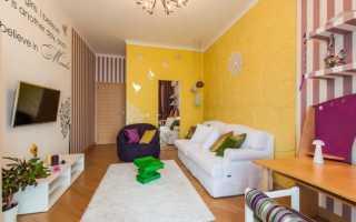 Серо желтая гостиная