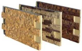 Термопанели для дома под кирпич и камень