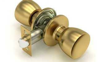 Как починить дверную ручку межкомнатной двери?