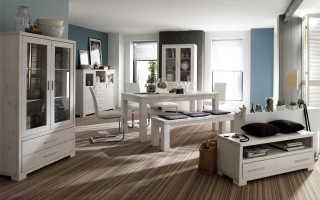 Гостиная мебель из массива