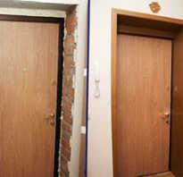 Чем отделать косяки входной двери?