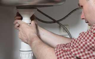 Как собрать сантехнический сифон для кухни?