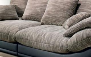 Какую ткань выбрать для перетяжки дивана?