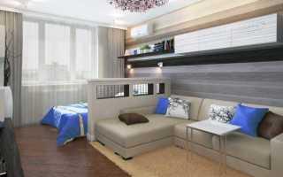 Гостиная спальня интерьер