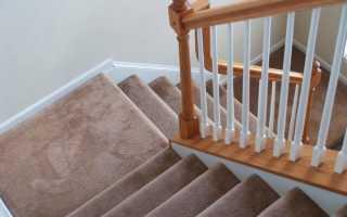 Отделка лестниц по бетону