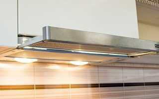 Как работает встраиваемая вытяжка для кухни?