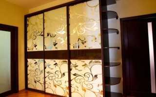 Фасады распашные из МДФ для шкафа купе